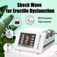 La disfunción eréctil de atención de la salud y la disfunción eréctil de onda inteligente de baja intensidad para la terapia de disfunción eréctil o reducir el dolor de alivio para el cuerpo CE / DHL