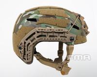 Tactical Airsoft Paintball casco táctico juego de guerra del ejército de alta calidad protectora Casco RÁPIDO táctico con los anteojos protectores Ligera