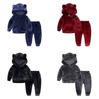 2PCS Baby Girls Clothes Kids Clothing Children Tracksuit kid...