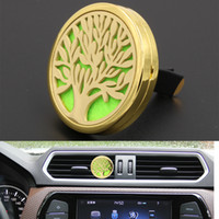 New Design Gold Plated 40MM Large Car Air Freshener Auto Int...