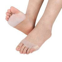 8e6383abcd Ankle Support Medical Honeycomb Silicone Gel Anti-slip Breathable Forefoot Half  Yard Insoles Pain Relief Toes Ankle Protector #248684
