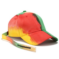 Tie- dye hat couple men and women color matching fashion long...