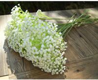 Gypsophila baby souffle artificiel fausse fleur de soie maison mariage jardin décoration babybreath blanc fleur artificiel gypsophila vt0960