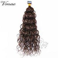 Doğal Siyah Remy 100g Afro Kinky Kıvırcık Vücut Su Derin Dalga Düz 3b 3C 4A 4B 4C Bakire Cilt Atkı Bandı İnsan Saç Uzantıları