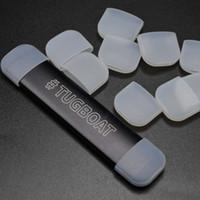 Römorkör Tigs Pod Damla Ucu Ağızlık Kapak Tek Kullanımlık Yumuşak Silikon Testi Cap Kauçuk Test Caps Ecig bireysel paket DHL Ücretsiz