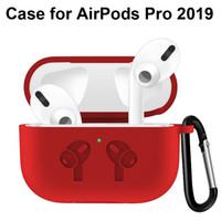 لairpods الموالية Airpods3 2019 ترف لينة سيليكون القضية ضد الصدمات هوك حقائب واقية مع سلسلة المفاتيح لAirPods التفاح 3 سماعات الأذن الغلاف