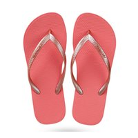 2020 Summer Solid color flip flops female sandals and slippe...