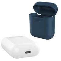 Custodia morbida in silicone per Apple Airpods Custodia antiurto per Apple AirPods Custodia auricolare Custodia ultra sottile per custodia protettiva