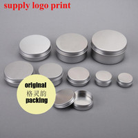 5g 10g 15g 20g 30g 50g 80g 100g 120g 150g 200g 250g / ml metallo di alluminio vaso crema Candela alluminio Jar Jar Tin per Hand Crema viso