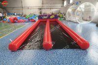 8x3 m Şişme zorb İnsan bowling pins mahkemesi açık dev bowling seti karnaval oyunu büyük satılık şişme bowling alanı