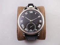 Classique L.U.C 161923-1001 Montres-bracelets montre de poche à la main suisse LUC mécanique à remontage automatique saphir 316L Fond transparent de cas en acier inoxydable