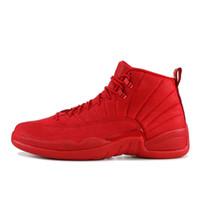 Basketball shoes 12s رجل كرة سلة 2019 جديد ميشيغان wntr رياضة أحمر nyc فوق الصوف الثاني عشر مصمم أحذية رياضة حذاء رياضة المدربين حجم 40-47