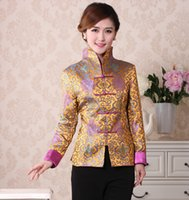 Chinese Traditional ethnic clothing Cheongsam Style Top Retr...