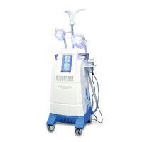 CRYO Makinesi Cerrahi Dondurucu Yağ Kapalı Vücut Konturlandırma Ekipmanları Soğutma Cryolipolysis RF Kavitasyon Güzellik Aracı BRG80-6S