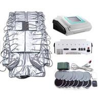 Прессотерапия 3 в 1 Оборудование для похудения Профессиональный лимфатический дренажный массажер Машина EMS Форма Корпус для салона