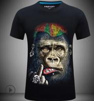 T قميص المرأة 2018 الصيف بلايز طباعة الكرتون الحيوان مصنع ماجيك 3D T-قمصان دروبشيب S-2XL
