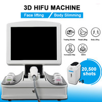 Taşınabilir HIFU 3D Yüz Germe Sıkma Ultrason Kırışıklık Temizleme Ekipmanları 8 Kartuşlar 12 Lines 20000 Çekim 3D HIFU