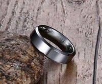 design de aço Men tungstênio Mulheres Crystal Rings Bling Rua Jóias Marinha Micro pavimentada quente para a festa de qualidade Hight Hot Sale