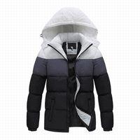 2019 yeni marka Erkekler kış ceket, moda spor açık Kış aşağı ceket erkekler, erkekler giyim ceket marka anti-rüzgar kapüşonlu ceket