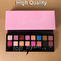 In Stock Eye Makeup 16 Color Eyeshadow palette with brushes ...