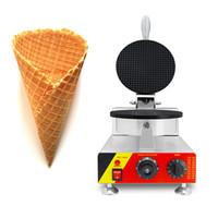 Kommersiell Ice Crea Cone Maker Palacinka Baker Cone Bakmaskin 110V 220V Egg Roll Waffle Maker Ice Cream Waffle Cone Maker