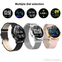 2020 Nuevo CF18 Smart Watch IP67 Pantalla de color a prueba de agua Presión arterial Monitor de ritmo cardíaco Hombres Mujeres Smartwatch para Samsung Xiaomi Huawei