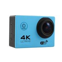 "4k Acción Cámara F60 Allwinner 4K / 30FPS 1080P Sport WiFi 2.0 ""170d Casco Cam Underwater Go Waterproof + Retail Box"
