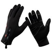 Тепловой Ветрозащитный Велоспорт Перчатки С Сенсорным Экраном Велосипед Guantes Мужчины Женщины Зимние Теплые Перчатки Велосипед Езда На Лыжах Пешие Прогулки Перчатки