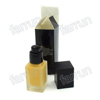 Private Label Service Kosmetikgeschäft 3 Farbfundamente Rechteckflasche Drucken Sie Ihr Logo Flüssiges Fundament BB Creme Kein Logo
