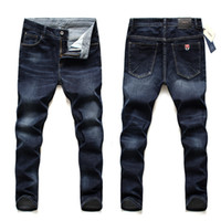 2020 Brand Jeans Men New Fashion Slim Fit Denim Pants Pantalones Streetwear Alta calidad Tallas grandes 40 42 44 46