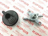 Gruppo valvola del carburante per KIPOR IG770 IG1000 IG2000 IG2600 KGE1000TI 1KVA 230V 4 tempi generatore invertito digitale rubinetto del rubinetto