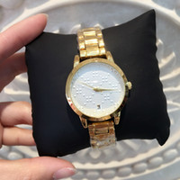 Top quality Luxury design golden women watches with date fas...