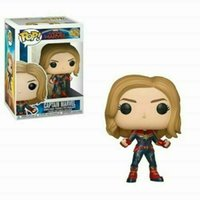 2019 New Captain Marvel #425 Funko Pop Vinyl Figure Brand Gi...