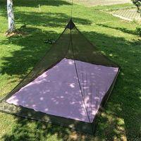 Outdoor-Camping Moskitonetz Perfekt Backpacking Zubehör für Erwachsene Kinder Moskitomatte Halten Insekt Away Home Textile RRA3074