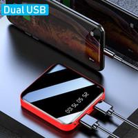 전원 은행 신상품 듀얼 포트 2.1A 10000 / 20000mAh 휴대용 USB 패킷 미니되는 PowerBank 충전기 휴대 전화 전원 은행