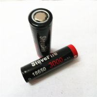100% батареи 5C питания 18650 потайной головкой Батарея 3000mAh 50A 3.7V Rechargable литиевые батареи., Может быть использован для 60W электронных сигарет, Free Shippin