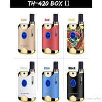 Authentic Kangvape TH420 II Starter Kit 650mAh VV TH420 2 Box Battery Mod 0,5 ml 92a3 Grosso Cartucho de óleo do tanque Genuine