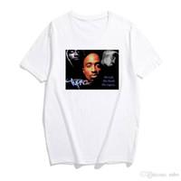 Streetwear Style T Shirt Fashion Summemr 2PAC TRUST NOBODY TUPAC Shakur para Cool Men / women Tshirt Cotton Moda Hombre 2019 Camisas DHBOMC160