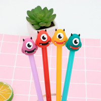 Big Eye Monster Gel Stift 0,5 mm schwarz Kinder Schreibfeder Office Eexamination Limited Office Material Schulbedarf Großhandel Free E-PACK