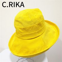 New Spring Summer Corduroy Big Brim Sun Hat for Women Solid ...