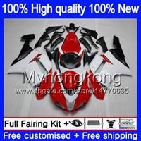 Lichaam + 8Gifts voor Kawasaki ZX 6R 6 R 600CC ZX636 2007 2008 209MY.21 ZX-636 ZX600 600 ZX6R 07 08 ZX 636 ZX-6R 07 08 Good Red White Highlings