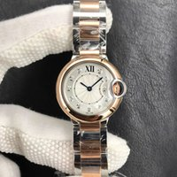 Luxury Watch wristwatch Ballon Watch for Women 28mm Swiss 057 Quartz Movement Rose Gold 316 Steel Band
