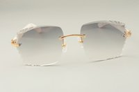 Gafas de sol Privado Ultralight Moda de lujo 3524014-D Aztec Factory Direct Nueva Lente de grabado, Personalizado, Grabado LBHCN