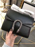 أزياء المرأة مستحضرات تجميل حقيقية الجلود سلسلة حزام الكتف حقيبة CROSSBODY العظمى جيد حقيبة جودة مع مربع