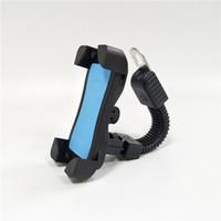 Universal-Fahrrad-Telefonhalter Motorrad-Fahrradständer drehbar 3,5-6,5 Zoll Motorrad-Mobiltelefon-Montierhalterung für iPhone 8 x