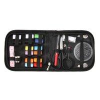 27 teile / satz Nähen Box Kitting Nadeln Werkzeuge Tragbare Reise Quilting Thread Stickerei Stickerei Handwerk Nähen Kits Home Organizer