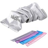 HICOOL Arm-Hülsen-Sonnenschutz UV-Schutz Sommersport Radfahren Kühlen Außen Arm-Hülsen-Arm-Wärmer 10 Farben 2pcs / pair 500 OOA1874