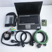 MB estrela C4 de diagnóstico de HDD 320GB com scanner de conjunto completo computador D630 ram 4g por benz pronto para o trabalho