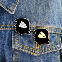 Creative Pop- up Avatars Brooches Pins Designer Brooches Fine...