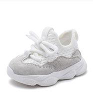 2019 الخريف طفلة الصبي طفل أحذية الرضع عارضة الاحذية أحذية لينة أسفل مريحة تنفس الأطفال حذاء